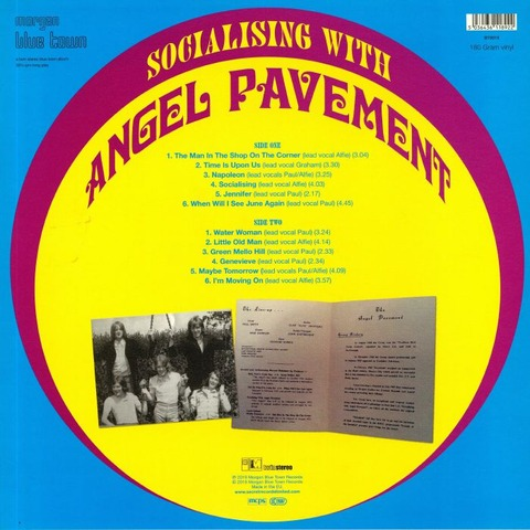 Angel Pavement ‎- Socialising with Angel Pavement BT5019 b