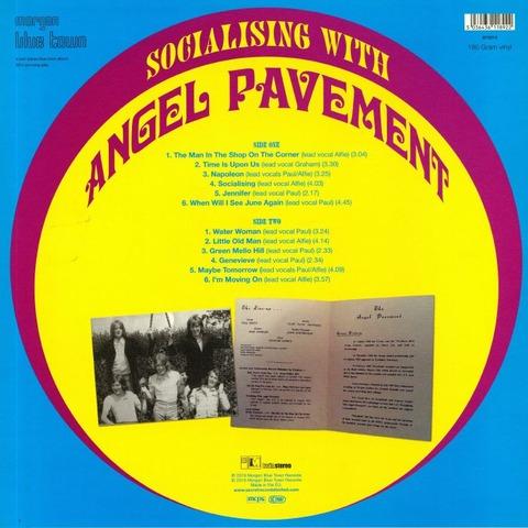 Angel Pavement - Socialising with Angel Pavement BT5019 b