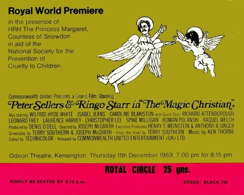 The Magic Christian Royal World Premiere