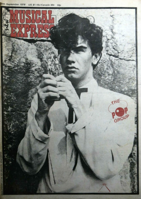 NME September 30, 1978 cover