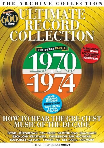 Uncut Ultimate Record Collection 1970-74 May 2019 cover