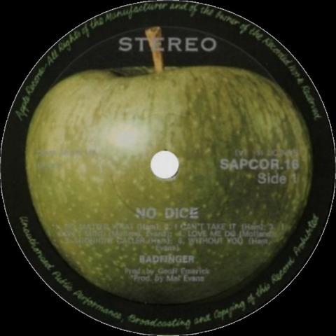 Badfinger No Dice SAPCOR-16 Rhodesia r1