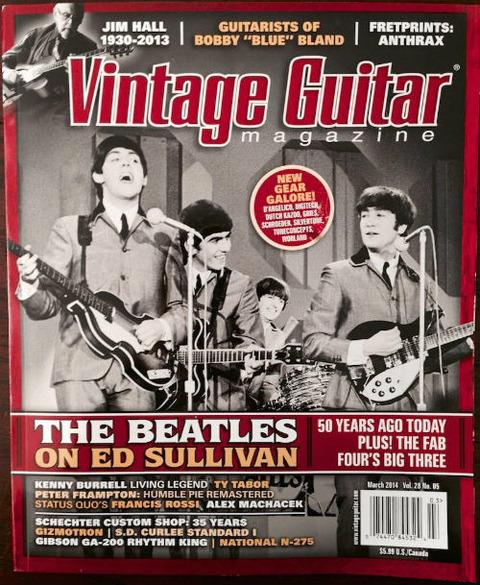Vintage Guitar Magazine (March 2014)
