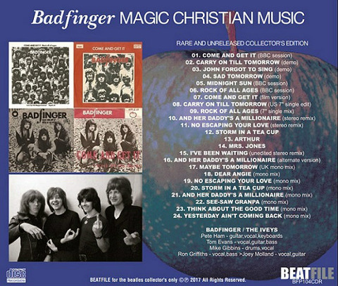 Badfinger - Magic Christian Music Rare and Unreleased BFP104CDRb