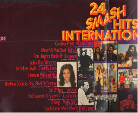 24 Smash Hits International (1972) in