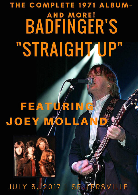 Badfinger's Straight Up Joey Molland July 3, 2017