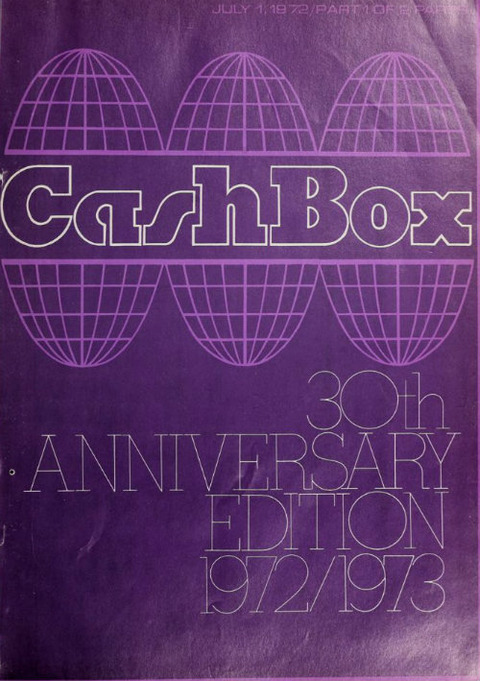 Cash Box 30th Anniversary Edition 1972-07-01