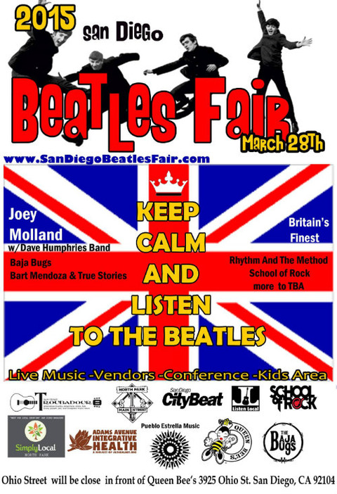San Diego Beatles Fair 2015