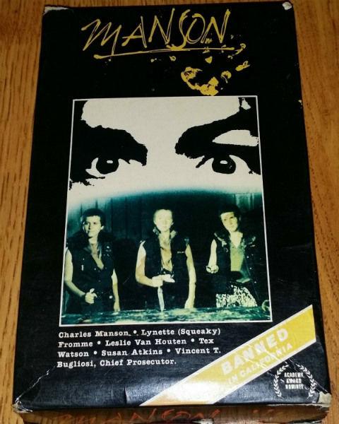 Manson (1973) VHS a
