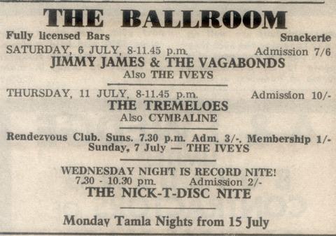 Iveys July 6, 7, 1968