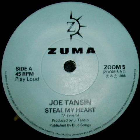 Joe Tansin - Steal My Heart 1986