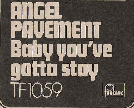 Angel Pavement Oct 1969 ad