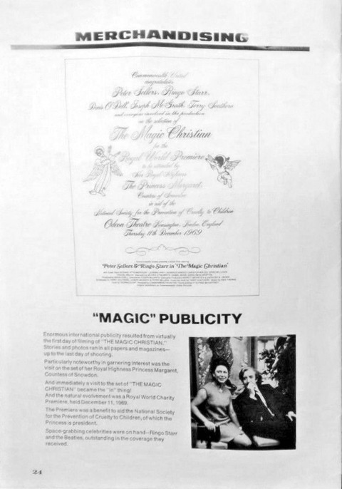 The Magic Christian 1969 Promo Program Pressbook p24