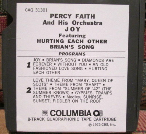 Percy Faith - CAQ 31301 back