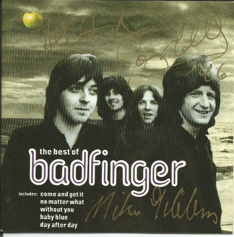 Signed by Mike Gibbins, Joey Molland +1 CD