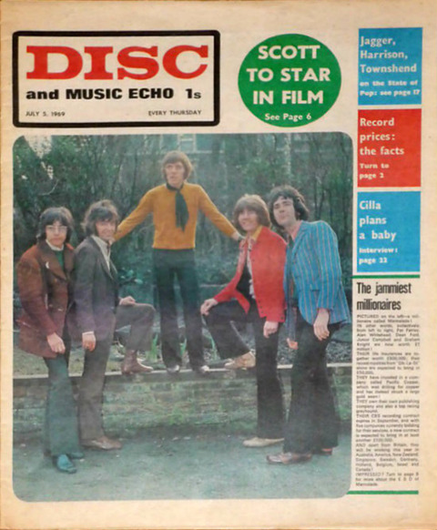 Disc and Music Echo (July 5, 1969) cover