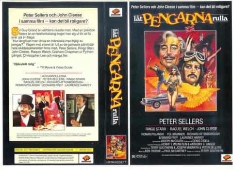 Låt pengarna rulla The Magic Christian VHS Sweden 1