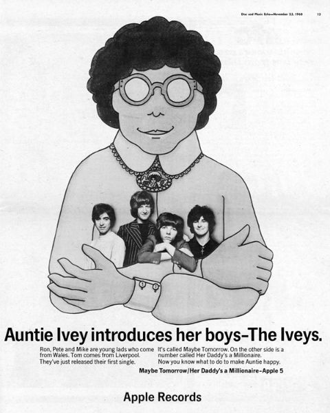 Disc and Music Echo (Nov 23, 1968) Auntie Ivey ad