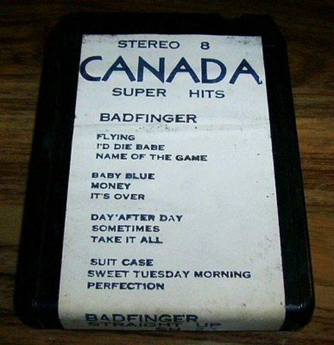 8-Track Straight Up Canada