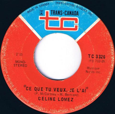 Céline Lomez - Ce que tu veux je l'ai