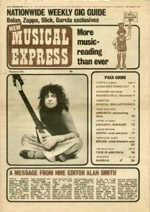 NME 19720205 cover