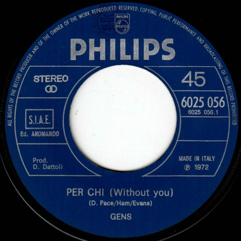 Gens - Per chi 6025 056 r