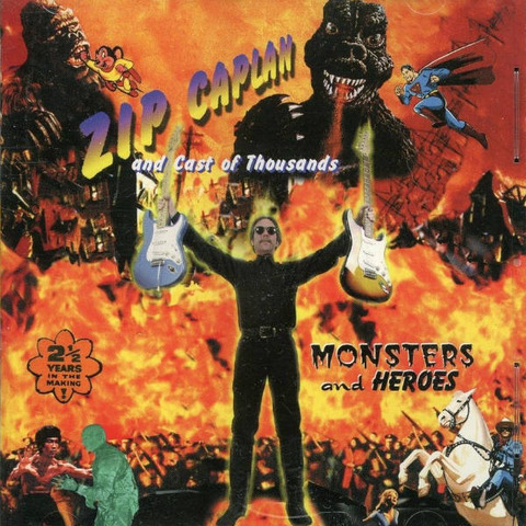 Zip Caplan Monsters and Heroes