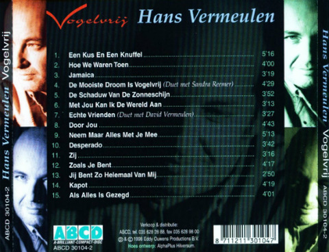 Hans Vermeulen - Vogelvrij (1998) Back