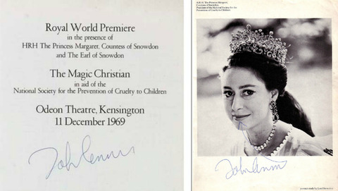 The Magic Christian Royal World Premiere John 1969