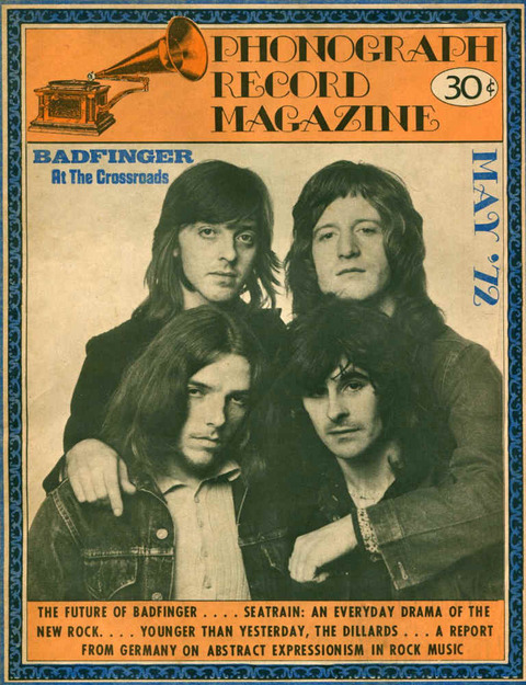 Phonograph Record Magazine (May 1972) cover