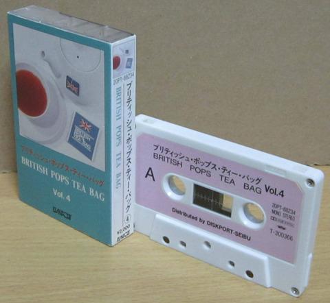 British Pops Tea Bag 4 cass d