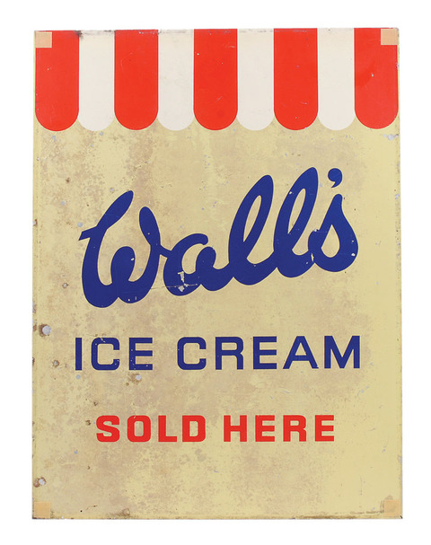 Wall's Ice Cream sold here