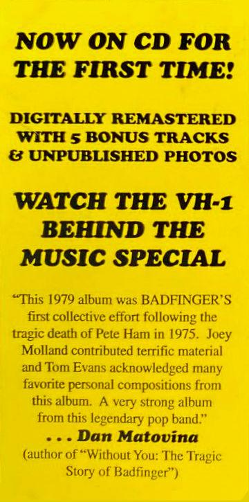 Badfinger - Airwaves 1999 c