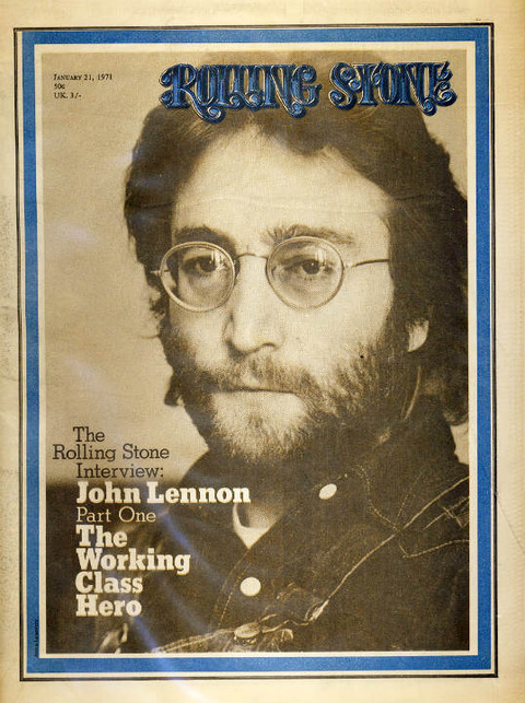 Rolling Stone #74 (January 21, 1971) lennon