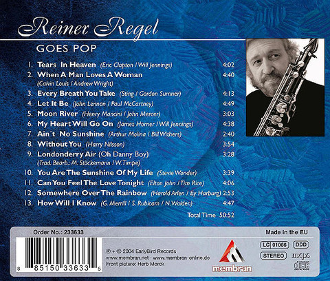 Reiner Regel - Goes Pop back