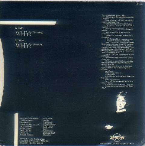 Gary Pickford & Friends - Why (1986) back