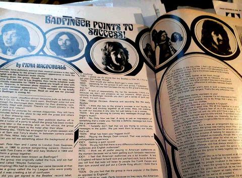 Teen Magazine (August 1972) badfinger