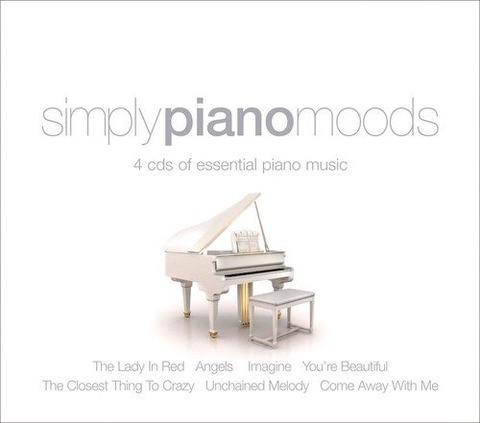 Chris Ingham - Simply Piano Moods 4cd