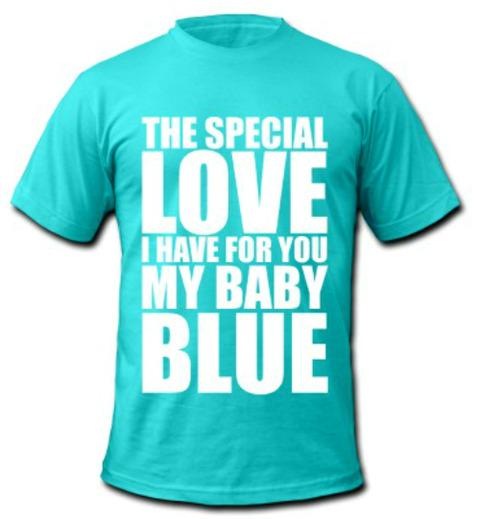 Badfinger Baby Blue T-shirt