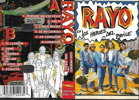 Rayo - Los Héroes del Baile cass