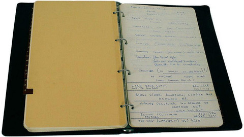 Lot 98 John Lennon Telephone And Address Book