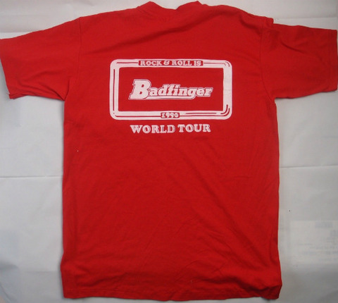 Badfinger 1990 Original Tour T-Shirt back