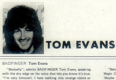 Tom Evans 22