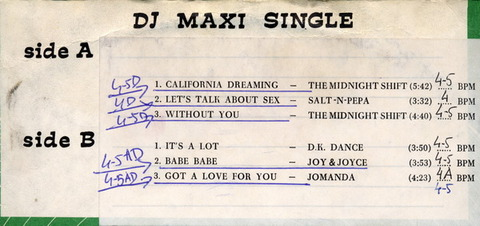 The Midnight Shift - DJ Maxi Single 73