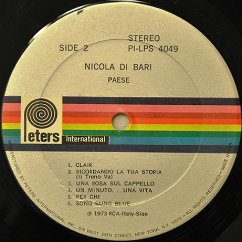 Nicola Di Bari PI-LPS 4049 r