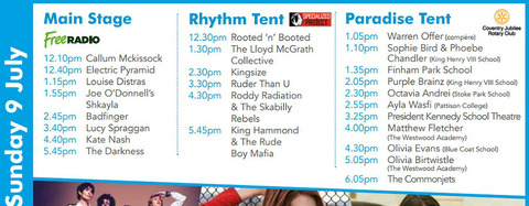 Coventry Godiva Festival July 9, 2017
