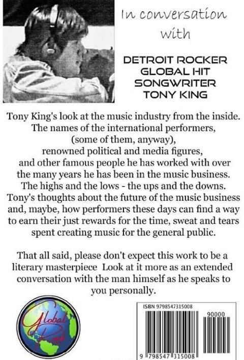 Tony King - Living Rock Music History b