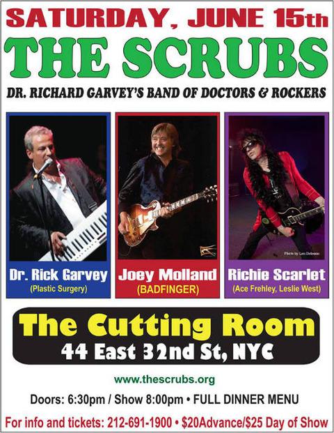 The Scrubs feat Joey Molland June 15, 2013