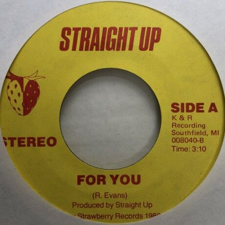 Straight Up - Oh Yeah + For You r2