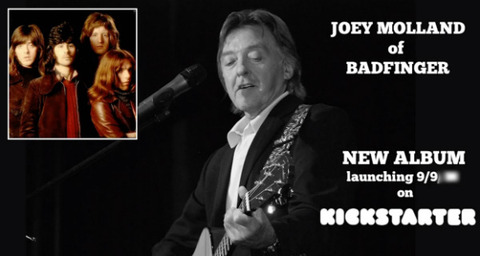 Joey Molland Kickstarter 1